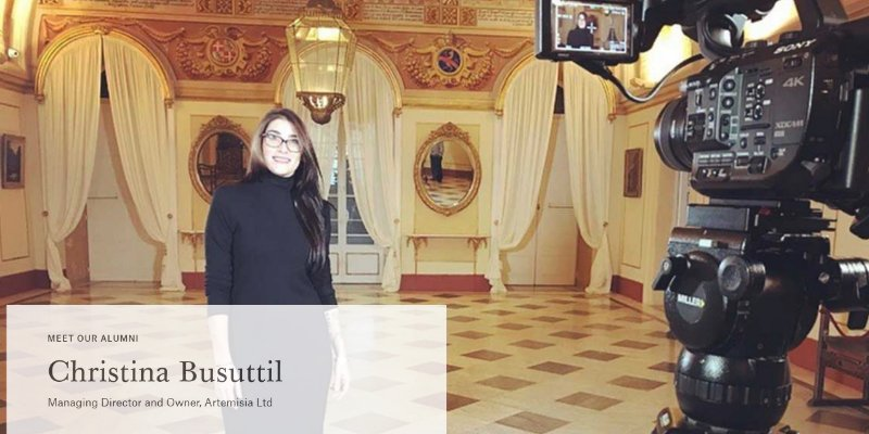 Article Image Christie's Education Alumni:Christina Busuttil