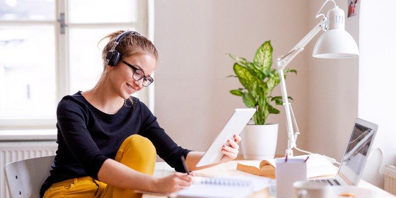 Article Image Thiết lập không gian làm việc tại nhà