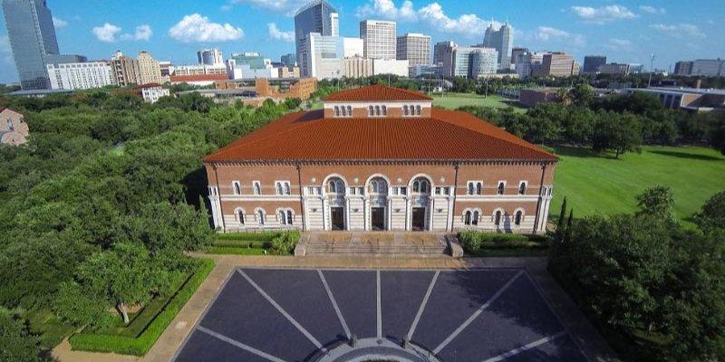 Article Image Brezilya'dan Diorgenes Borges, Teksas, Houston'daki Rice Üniversitesi'nde İngilizce okudu.
