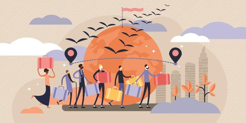 Article Image Câu chuyện thành công của người nhập cư Hoa Kỳ thu hút sự chú ý