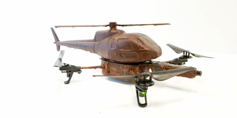 Article Image Guloseima projetada: um drone de chocolate