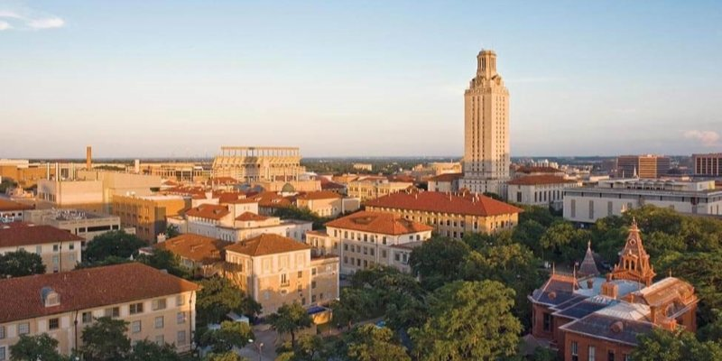 Article Image Alejandra Humpierres Isava from Venezuela is studying English at the University of Texas in Austin.