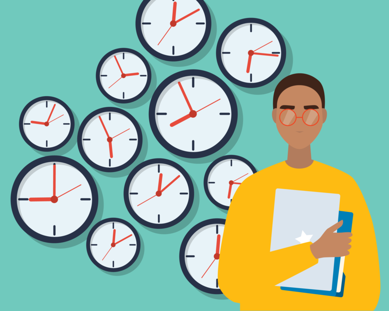 Blog post image for 6 Tips to Create My Daily Schedule for College + 5 Tools