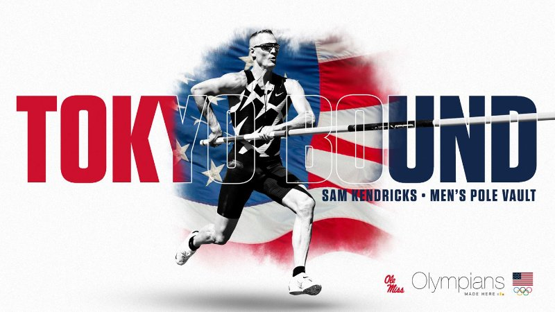 Blog post image for The University of Mississippi's Sam Kendricks Makes His Second U.S. Olympic Team